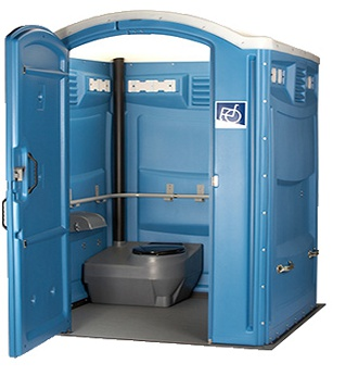 Handicap Portable Toilet - A Royal Flush, Inc.