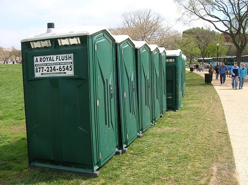 Portable Restrooms Toilet Trailers For Rent A Royal Flush