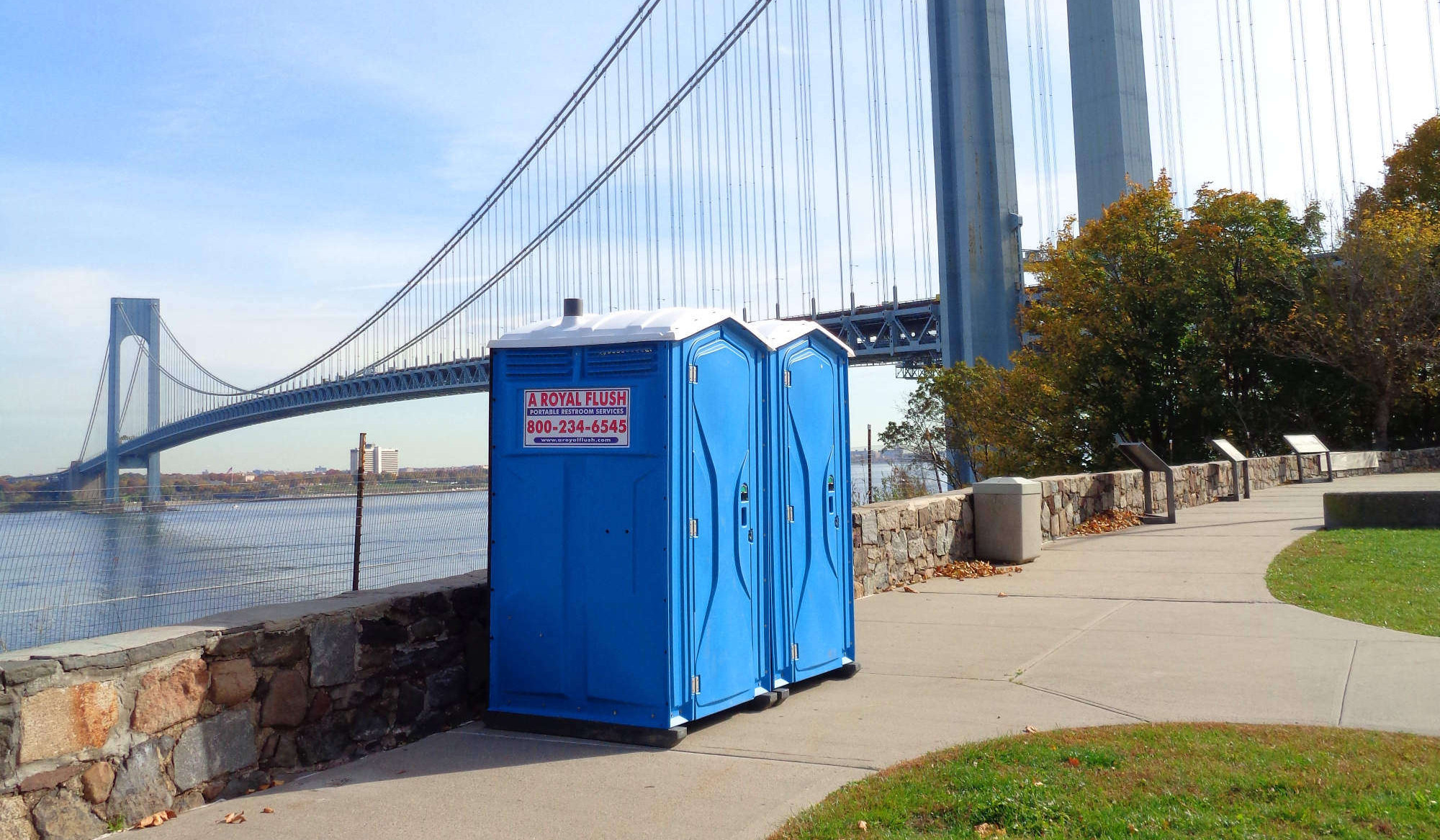 Porta Potty toilet Renatal