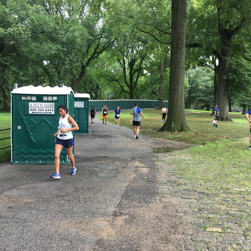 NYC Marathon Portable Toilets